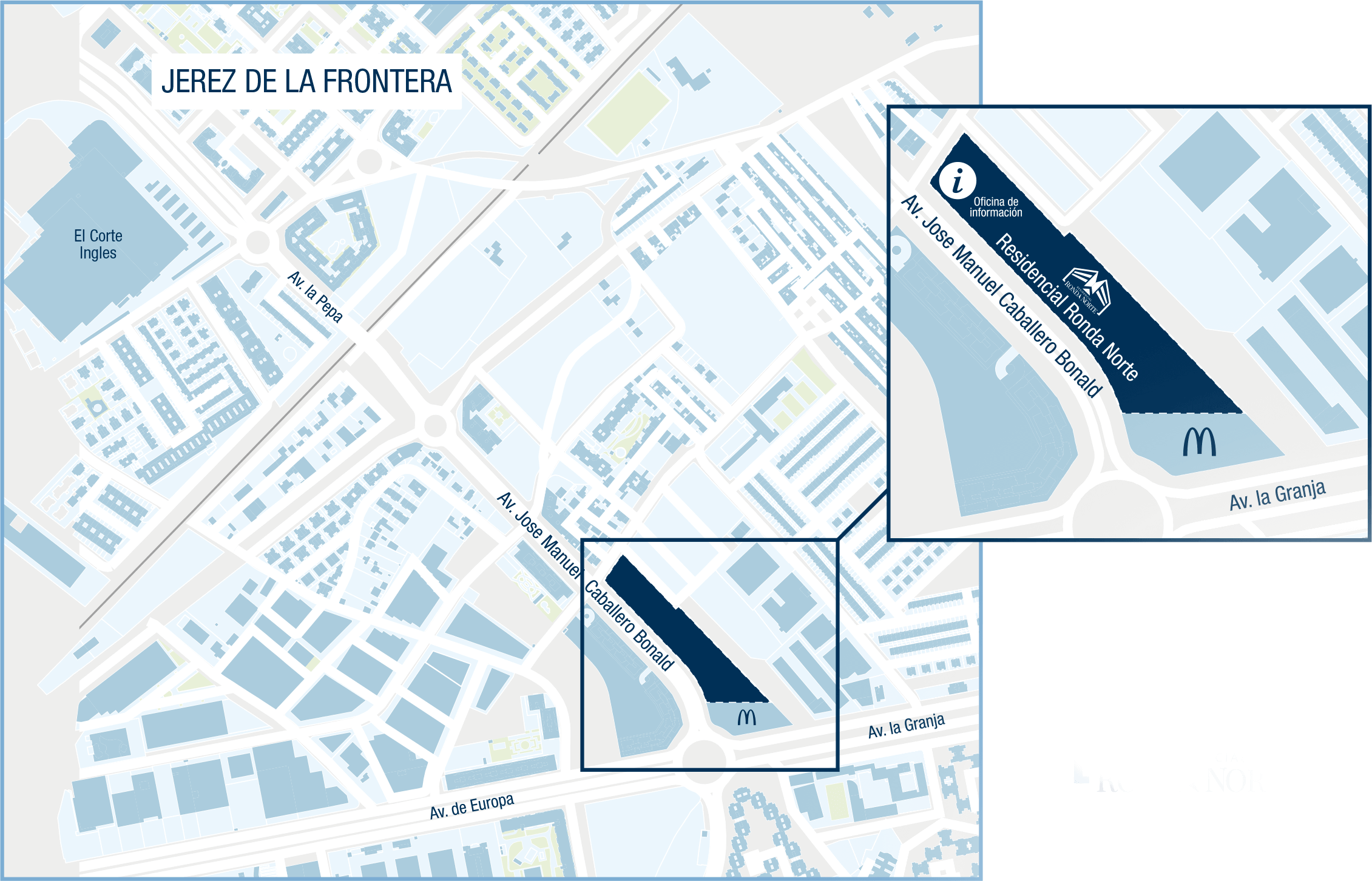 Mapa de residencial